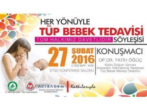 Edirne Belediyesi'nden 'Her Yönüyle Tüp Bebek Tedavisi' Söyleşisi
