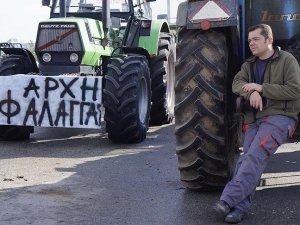 Yunan çiftçiler, eylemlerini Selanik'te sürdürecek