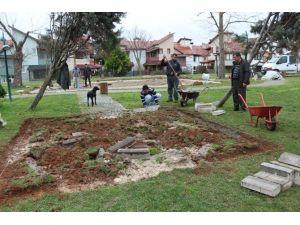 Akçakoca Parklar Yaza Hazırlanıyor