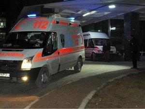 Kalp krizi geçiren futbolcu hastaneye kaldırıldı