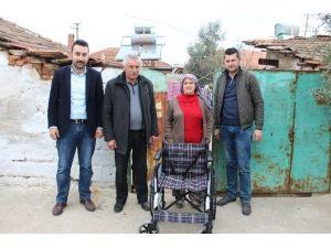 Alaşehir Belediyesi Bir Engelliyi Daha Sevindirdi
