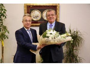 Ankara Vergi Dairesi Başkanı Sütcü'den ATO'ya Ziyaret