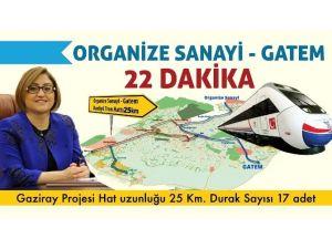 "Gaziantep'e ""Gaziray"" Yapılacak"