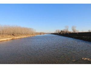 Taşkınlara Son Verecek Kanal Edirne Projesi'nde Çalışmalar Sürüyor