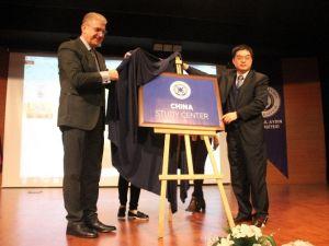 Türkiye'deki İlk 'Çin Araştırma Merkezi' İAÜ'de Açıldı