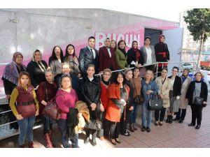 AK Parti'li Kadınlardan Kanser Taramasına Destek