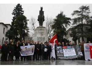Karapapak Türkleri Birliği 'Hocalı' Katliamını Protesto Etti