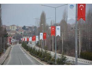 Ilgaz, Türk Bayraklarıyla Donatıldı