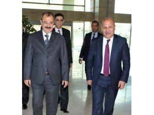 Cumhuriyet Başsavcısı Bayır'dan GSO'ya Ziyaret