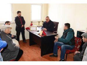 Vali Deniz, Rahvan AT Binicilik Kültür Ve Spor Kulübü'nü Ziyaret Etti