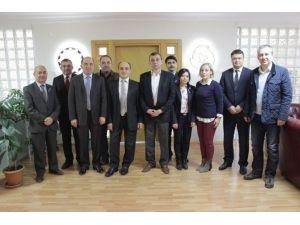 Vergi Dairesi Müdürlüğünden Safranbolu TSO'ya Ziyaret