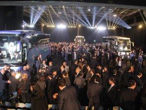 Mercedes Benz-Türk Yeni Travego'yu tanıttı