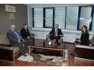 Azerbaycan Heyeti Başkan Yardımcısı Bulut'u Ziyaret Etti