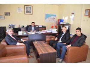 İl Genel Meclis Başkan Vekili Dikmen'den DSİ Şube Müdürüne Ziyaret