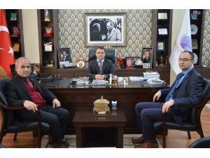 SGK'dan Aksoy'a Ziyaret