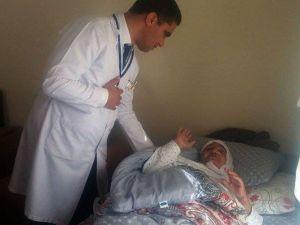 Gevaş'ta Hasta Ziyareti