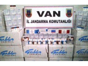 Muradiye'de Tarihi Eser Ve Kaçak Sigara Operasyonu