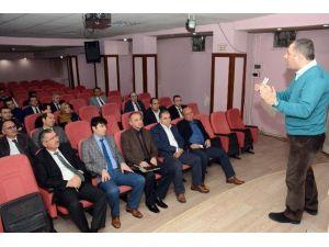 Belediyeden Birim Müdürlerine İş Güvenliği Semineri