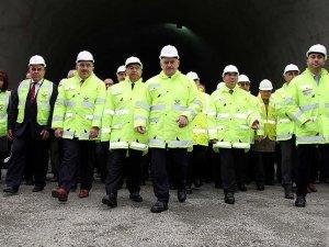 Türkiye'nin en uzun YHT tüneli açıldı