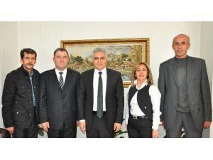 Bimyad, İl Emniyet Müdürü Urhal'ı Ziyaret Etti
