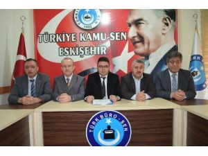 Türk İmar-sen Eskişehir İl Temsilcisi Suat Kızıldağ: