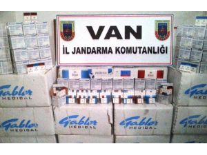 400 bin TL değerinde kaçak sigare ele geçirildi
