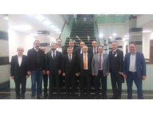 MÜSİAD, Milletvekillerini Ziyaret Etti