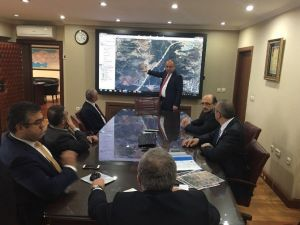 Tahsin Babaş, Ankara'da Çeşitli Ziyaretlerde Bulundu