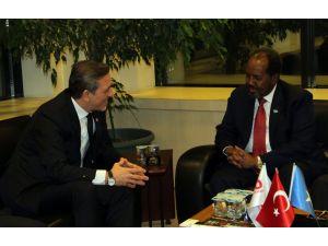 Somali Cumhurbaşkanı Mahmud, Bursa iş dünyası ile bir araya geldi