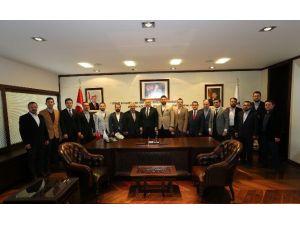 TÜMSİAD Başkan Zolan'ı Ziyaret Etti