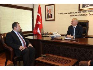 Denimder'den Başkan Zolan'a Ziyaret