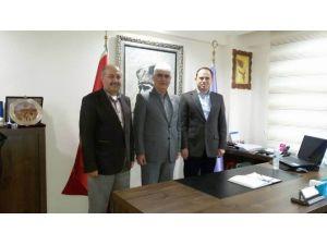 MHP'den, Seyyar Tuhafiyeciler Ve İşportacılar Odası Başkanı Şen'e Ziyaret