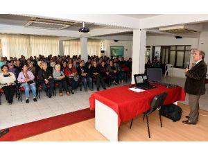 Muratpaşa Kursiyerlerine Akhav'dan Eğitim