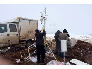 Süleymaniye Kayak Merkezinden İlk Meteorolojik Veriler Alındı