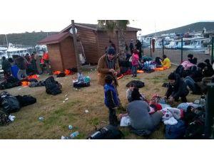 Sığacık Körfezi Açıklarında 159 Kişi Yakalandı