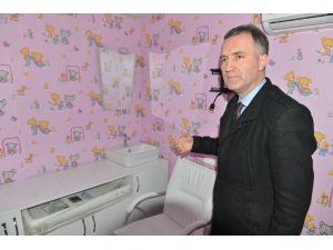İnegöl Belediyesi'nden Bebek Bakım Odaları