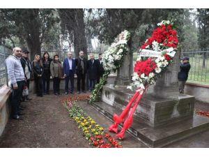 """""""Osman Hamdi Bey'' Mezarı Başında Anıldı"""