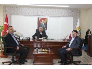Milletvekili Tunç'tan Ulus Belediyesi'ne Ziyaret