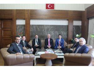 Ansiad Yönetim Kurulu'ndan Uaü Rektörü'ne Ziyaret