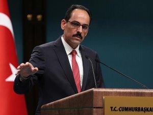 Cumhurbaşkanlığı Sözcüsü Kalın: Türkiye'nin ulusal güvenliği asla müzakere ve pazarlık konusu değildir