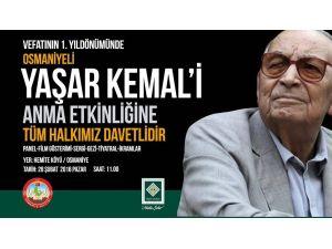 Yaşar Kemal doğduğu köyde anılacak