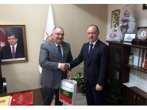 Bulgar Başkonsolos Valchev, AK Parti İl Başkanı Akmeşe'yi Ziyaret Etti
