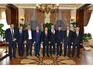 Tısiad Yönetimi Vali Türker'i Ziyaret Etti