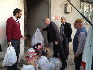 Sincik Müftülüğünden Suriyeli Ailelere Yardım
