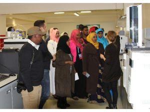 Somali'den Gelen Gençler Aksuvital'de Ağırlandı