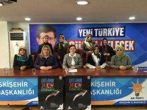 AK Parti'li Kadınlar Hocalı Katliamını Unutmadı