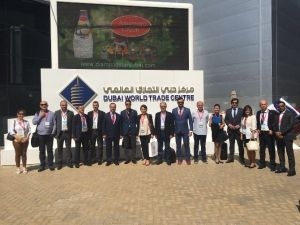 ATSO Gıda Kümesi Dubai Gulfood Fuarı'na Katıldı