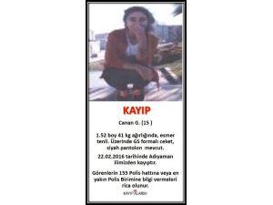 15 Yaşındaki Canan 5 Gündür Kayıp