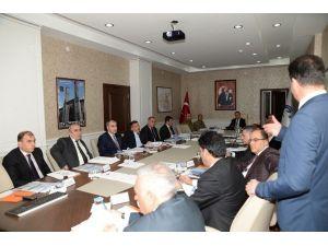 İl Afet Ve Acil Durum Koordinasyon Toplantısı Yapıldı