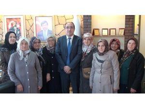 Başkan Çöl'e Çakır Mahallesindeki Kadınlardan Teşekkür Ziyareti